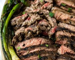 Tray with Mexican Carne Asada